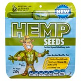Hemp Products Organic Hulled Hemp Seeds 250g