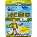Hemp Products Organic Hulled Hemp Seeds 1kg
