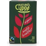 Nature's Cuppa English Breakfast Tea Organic 30 Tea Bags