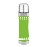 Cheeki 400ml Insulated Flask - Retro Leaves