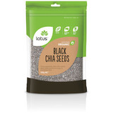 Lotus Organic Black Chia Seeds 500g