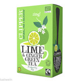 Clipper Organic Lime & Ginger Green Tea 20 Tea Bags