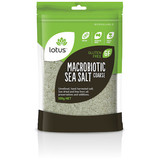 Lotus Sea Salt Macrobiotic Coarse 500g