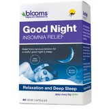 Blooms Good Night Insomnia Relief 60 Capsules