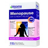 Blooms Menopause Day & Night Relief 60 Vegetarian Capsules