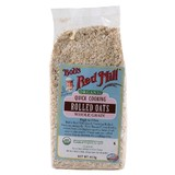 Bob's Red Mill Organic Quick Cook Rolled Oats 453g