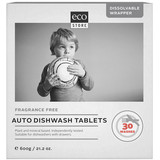 Ecostore Fragrance Free Auto Dishwash Tablets 600g