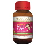 Herbs Of Gold Children's Multi Care 60 Chewable Tablets