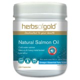 Herbs Of Gold Natural Salmon Oil 400 Capsules