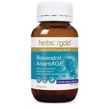 Herbs Of Gold Resveratrol AdvantAge 60 Vegetable Capsules