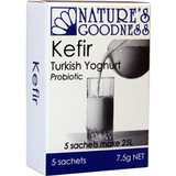 Nature's Goodness Kefir Turkish Yoghurt Probiotic 5 sachet (7.5g net)