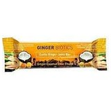 Nutra Organics Ginger Biotics Bar 45g