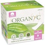Organyc Ultra Thin Panty Liners Light 24 Pack