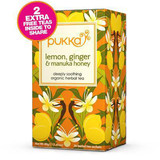 Pukka Lemon, Ginger and Manuka Honey