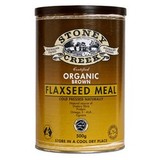 Stoney Creek Brown Organic Flaxseed Meal 500g