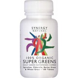 Synergy Natural Super Greens Organic 100 Tablets