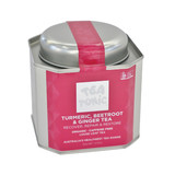 Tea Tonic Turmeric Beetroot and Ginger Tea Tin 185g Organic