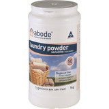 Abode Laundry Powder Front Loader Sensitive 1kg