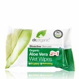 Dr Organic Aloe Vera Wipes 20 Pack