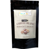 Noosa Naturals Chocolate Coated Coffee Beans in Premium Milk Chocolate 100g