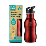H2Onya Stainless Steel Bottle 500ml Red