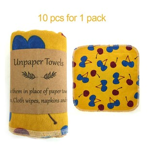 10 x Reusable Paperless Paper Towels