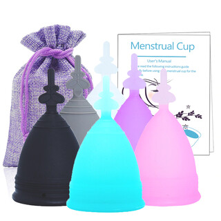 Reusable Soft Silicone Menstrual Cup
