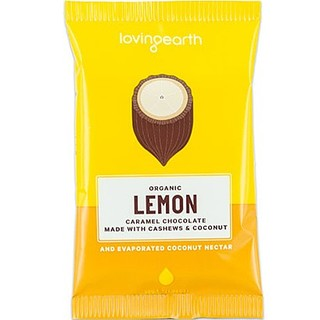 Loving Earth Lemon Caramel Chocolate 30g x 5