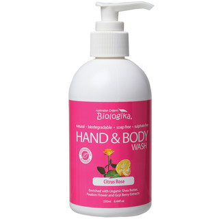 Biologika Hand and Body Wash Citrus Rose 250ml